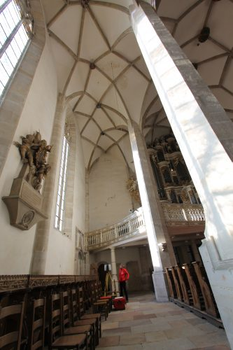 Dom Merseburg Scanning